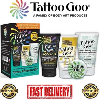Tattoo Goo 4 in 1 Aftercare Kit - The Best Aftercare for your New Tattoo