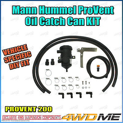 Toyota Landcruiser 200 Provent Oil Catch Can Separator Mann Hummel Full Kit
