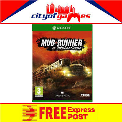 Spintires Mudrunner Xbox One Game New & Sealed Free Express Post In Stock Now