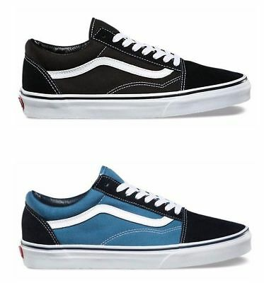 Vans Old Skool Core Classic Skate Shoes/Trainers (Black D3HY28, Navy D3HNVY)
