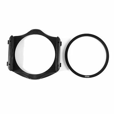 77mm Adapter Ring + 3-Slot Filter Holder for Cokin P Series Camera CT J7X6 V3D3