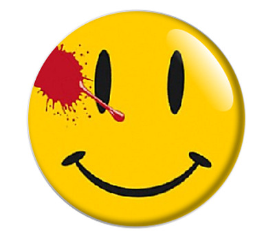 Bloody Smiley face Ansteck Pin Button 25mm Bis 59mm Ø