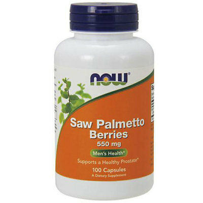 Saw Palmetto Berries 100 Caps 550 mg by Now Foods