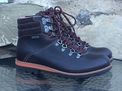 Clarks Padley Alp Gortex Boots UK 7 8.5 9.5 Brown Leather GTX Hiking Walking