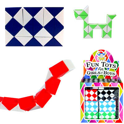 Mini Snake Puzzle Magic Cube Boys Girls Toy Party Bag Christmas Stocking Fillers