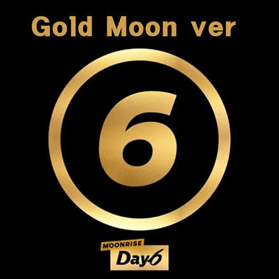 DAY6 - MOONRISE, 2nd ALBUM: GOLD MOON Ver. FULL PACK WITHOUT POSTER, SEALED