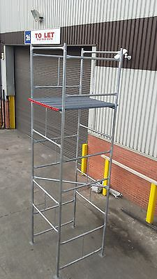 Scaffold Tower Galvanised D.I.Y FREE BOARDS Postage Included. NOW WINTER DEAL.
