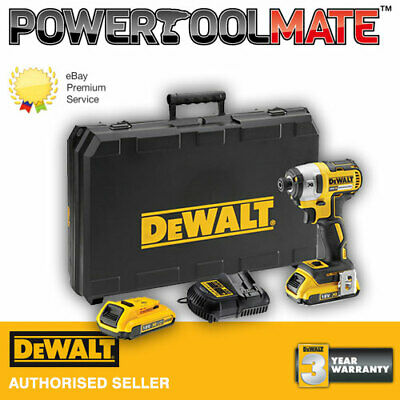 DeWalt DCF887D2-GB 18V 2x2.0Ah Li-ion Brushless 3 Speed Impact Driver DCF887D2