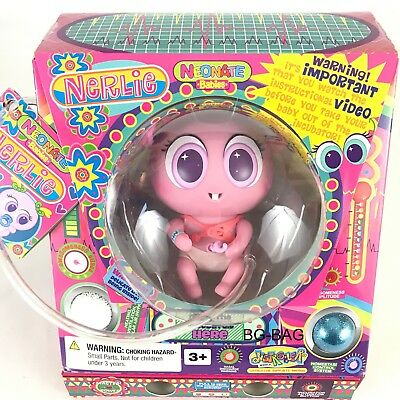 NERLIE Doll FIDGETS Distroller Neonate PINK Fidget USA Version AUTHENTIC New