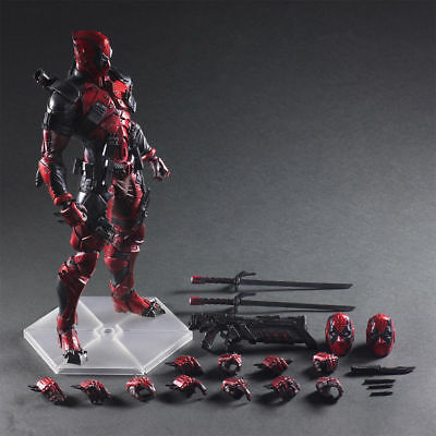 Play Arts Kai PA Deadpool Marvel Variant Action Figure Toy Doll Statue Display