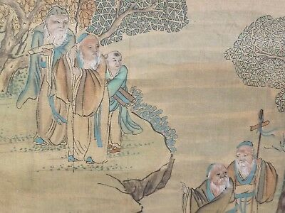 Antique Chinese Scroll Painting #1