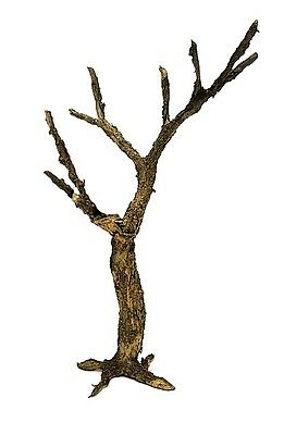 Model Tree 1/35 Scale Model Tree Trunk Realistic Bark. Tnt-029 26 Cm.high.