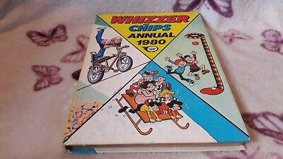 WHIZZER AND CHIPS ANNUAL 1980, A FLEETWAY ANNUAL. Not been price clipped £1.25.