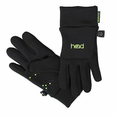 HEAD Kids' Touchscreen Gloves Black  size Sm.  ages 4-6