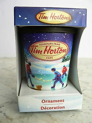 Tim Hortons - HOLIDAY TAKE-OUT Coffee CUP - Christmas Ornament 2013