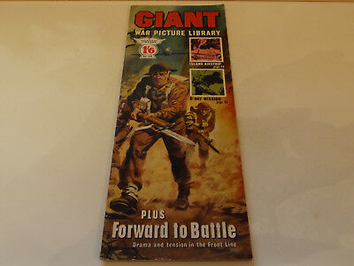 GIANT WAR PICTURE LIBRARY,NO 29,1965 ISSUE,V GOOD FOR AGE,52 yrs old,RARE COMIC.