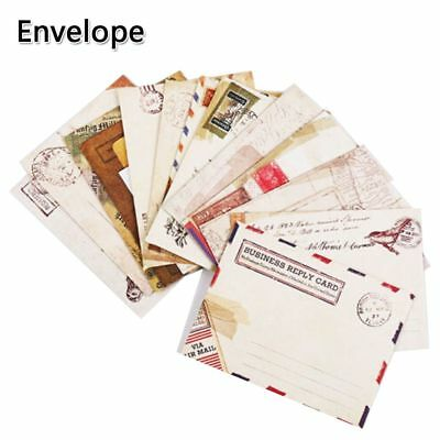 12 PCs/lot Gift Diy Stationery Vintage Kraft Paper Envelopes