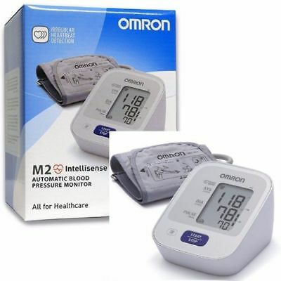OMRON M2 BASIC DIGITAL AUTOMATIC  Upper Arm BLOOD PRESSURE MONITOR