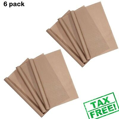 3 x PTFE Teflon Sheets Stick Craft Mat Sheet Heat Press Transfer Stamping Baking
