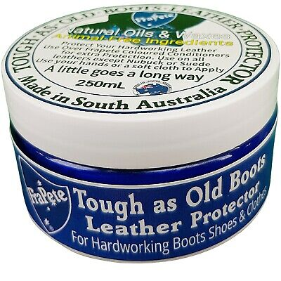 Tough Natural Leather Boot Balm Leather Care Leather Conditioner 230 grams