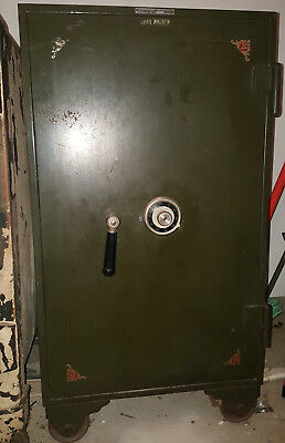Antique Floor Safe SHAW WALKER Mosler Safe Co.