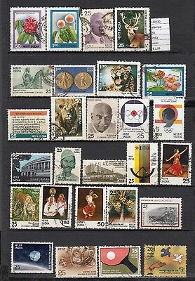 Francobolli Stamps Lot India Usati (L23220)