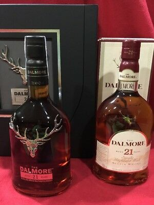 1+1 Whisky Dalmore 21 Years Limited Edition 2015  + 21 Years Old Version