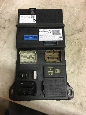 2007 Ford Fusion Cabin Fuse Box Interior Inner Under Dash