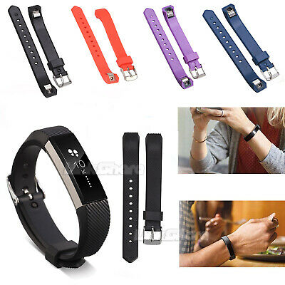 Rubber Silicone Replacement Wristband Watch Band Strap Bracelet For Fitbit Alta