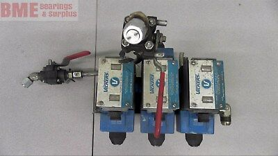 Vickers Pa5Dg4S4Lw-012N-B-60 Hydraulic Pilot Valve Directional 120 V