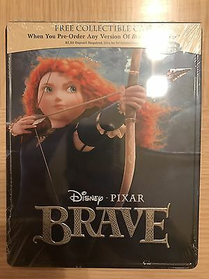Brave Steelbook Bluray Blu-Ray USA Disney Pixar