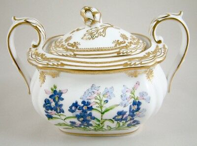 Spode China Stafford Flowers England Covered Sugar Bowl/sucrier Y8519 1St