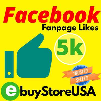 5,000+ Facebook Page-Likes-post-likes | Cheap & Instant | NON Drop Lifetime