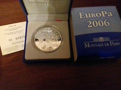 PACK COMPLET 1,5 euros  EUROPA 2006  argent