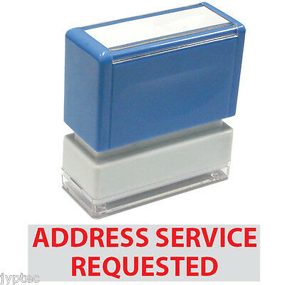 Address Service Requested - JYP PA1040 Pre-Inked Rubber Stamp