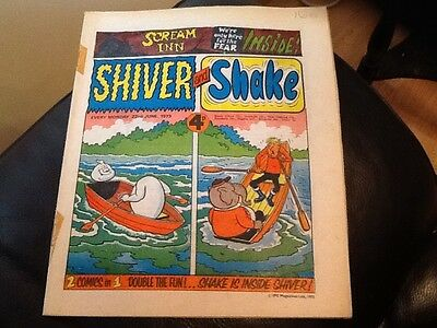 SHIVER AND SHAKE  Paper comic 1973 ISSUE NUMBER 16 . Still in great condition