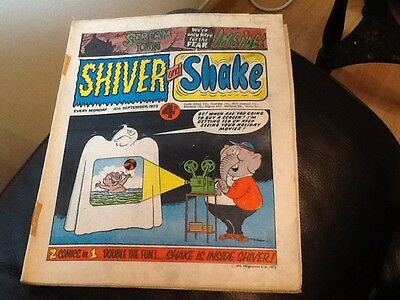 SHIVER AND SHAKE  Paper comic 1973 ISSUE NUMBER 28 Still in great conditions