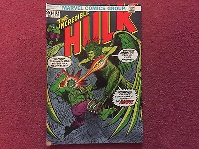 The Incredible Hulk #168 Bronze Age 1st App Harpy Marvel Comics OFFERS ACCEPTED