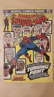 Amazing Spiderman Issue 121 Death of Gwen Stacy