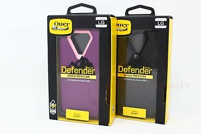 OtterBox Defender Series Case w/ Belt Clip Holster for LG G6 - NEW !!!