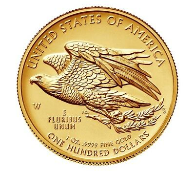 2015 W High Relief American Liberty Gold 1 oz Coin CoA and Packaging