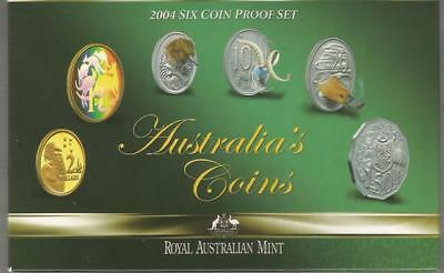 2004 Proof Set - Royal Australia Mint - In Box With Certificate