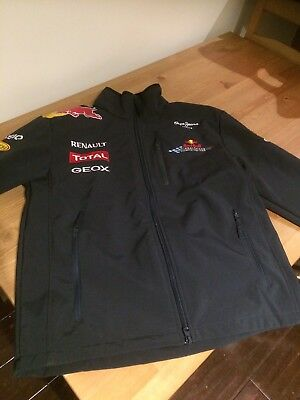 Formula 1 Racing Jacket Sponsored Red Bull And Others Size M Used