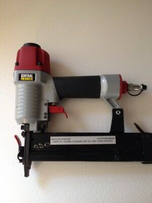 "General Pneumatic 1/4"" Crown 18 Gauge Staple Gun."