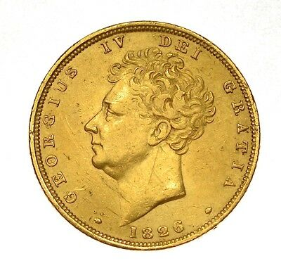 George IV 1826 Sovereign ®1125