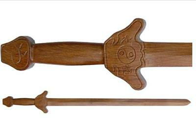 deluxe carved wooden tai Chi sword