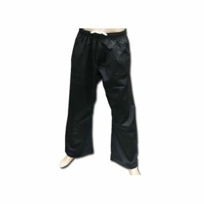 8 ounce Black Poly Cotton Pants
