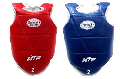 Olympic style reversable TKD chest guard