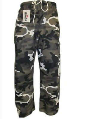 Junior martial arts pants - Grey Camo