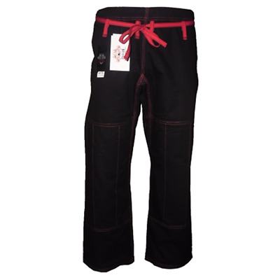 Dragon fightwear BJJ comp pants Black
